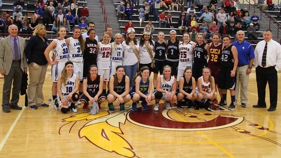 Last year's West vs. Midwest All-Star basketball games were played in Cherokee.