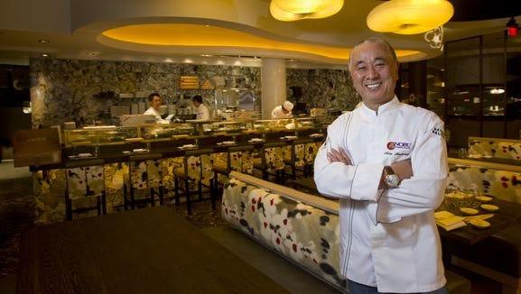Celebrity chef Nobu Matsuhisa