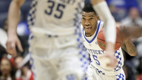 Malik Monk is considered a lottery pick for the 2017 NBA draft.