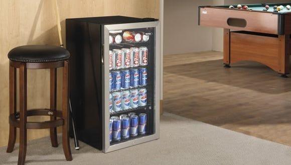 A beer fridge for any den.