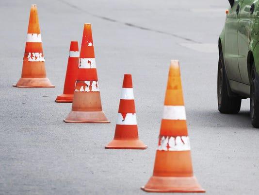 traffic cone Evgeny Sergeev