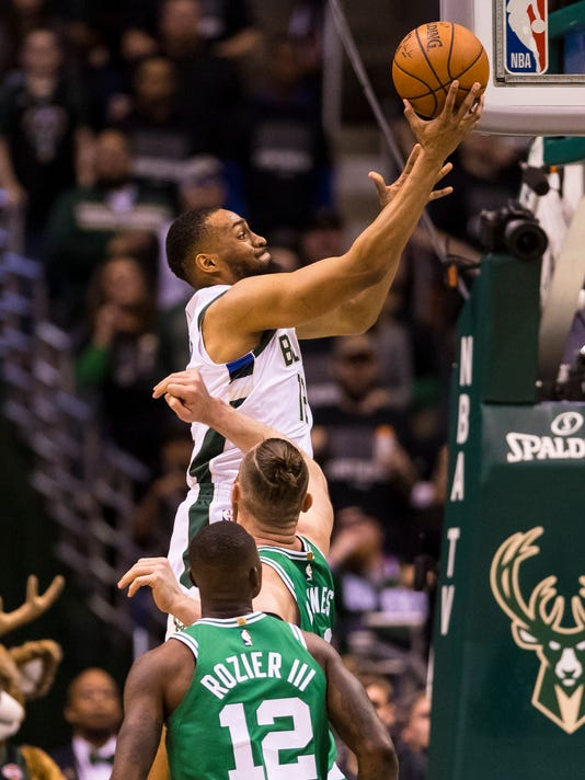 NBA: Playoffs-Boston Celtics at Milwaukee Bucks