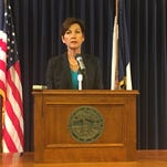 Gov. Reynolds: Worsening Iowa budget will force reliance on cash reserves