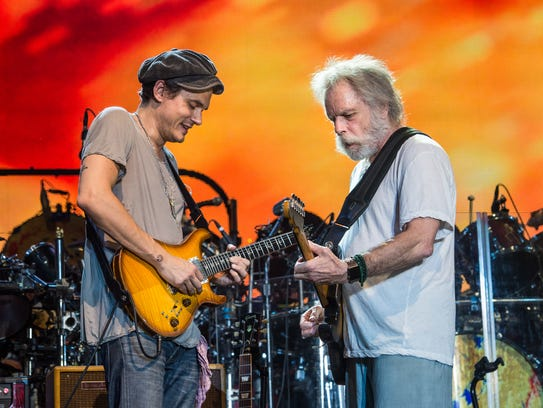 John Mayer (left) and Bob Weir of Dead and Company