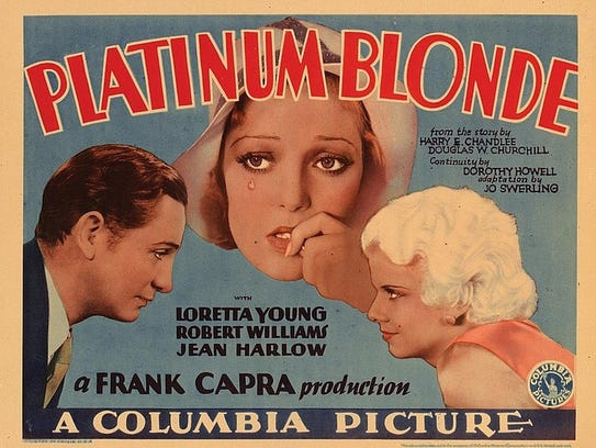 Platinum Blonde, 1931