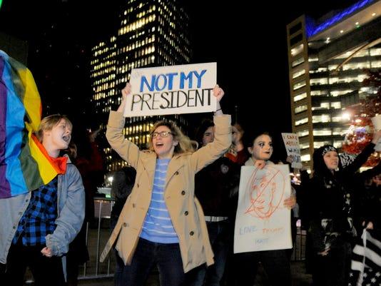 AP ELECTION PROTESTS A USA MI