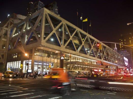 Port Authority Bus Terminal in midtown Manhattan.