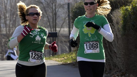 The ninth annual Shamrock Run 5K and 10K will be Saturday