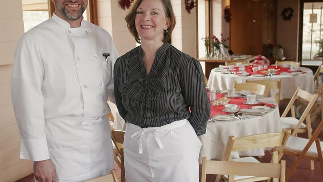 Daryl and Leslie Gossack, owners of Loustic Catering, will serve up tastes of the Big Island March 25.