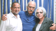 American contractor Alan Gross, center, poses with