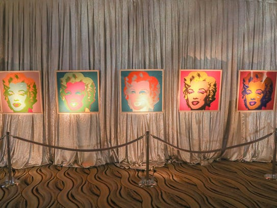 """Andy Warhol """"Marilyn"""" prints from the collection of"""
