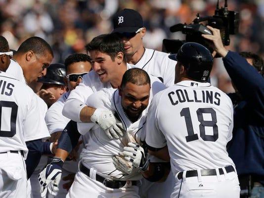 APTOPIX Royals Tigers Baseball