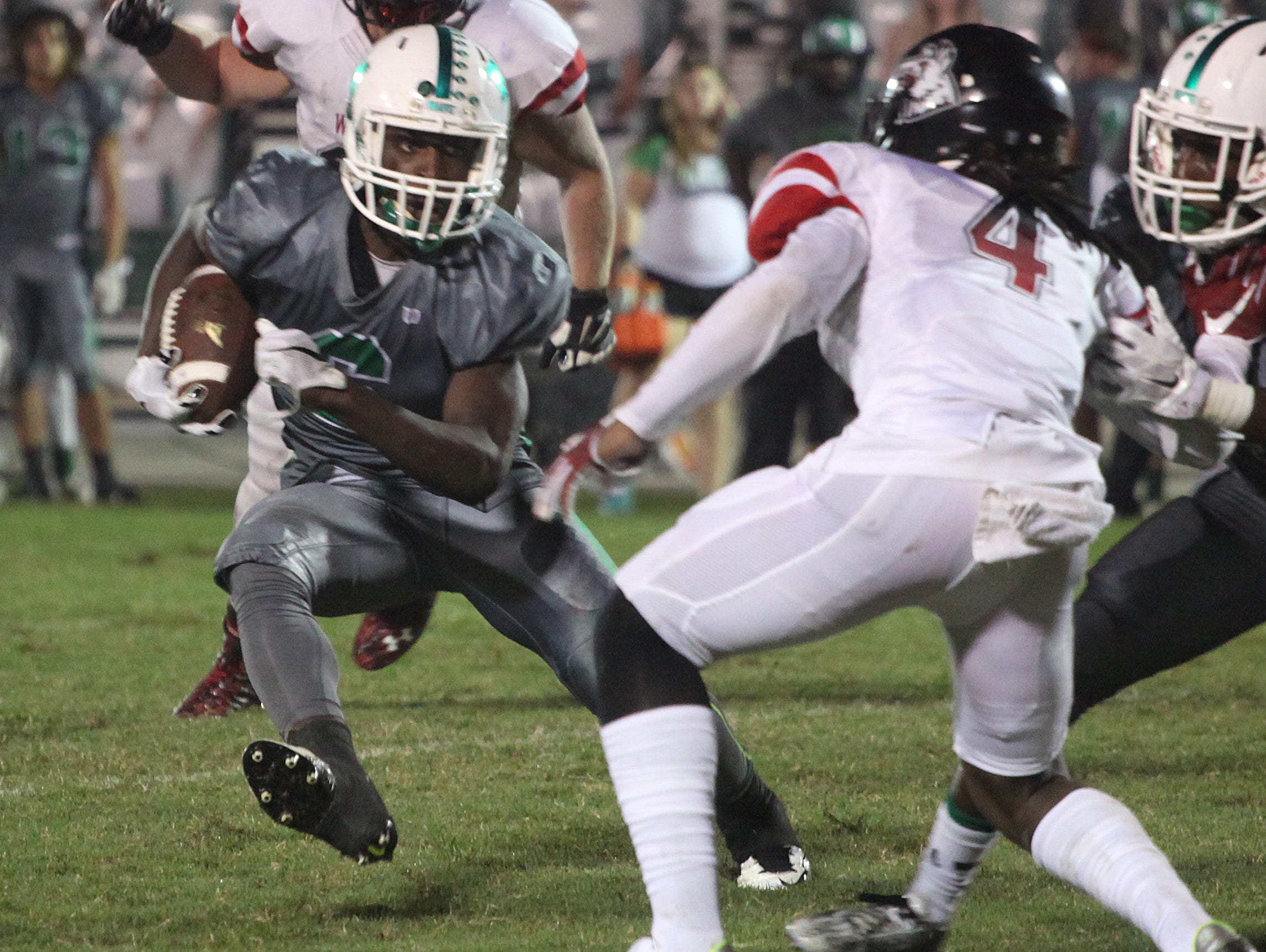 Fort Myers' Darrian Felix carries the ball during a game against South Fort Myers on Friday night.