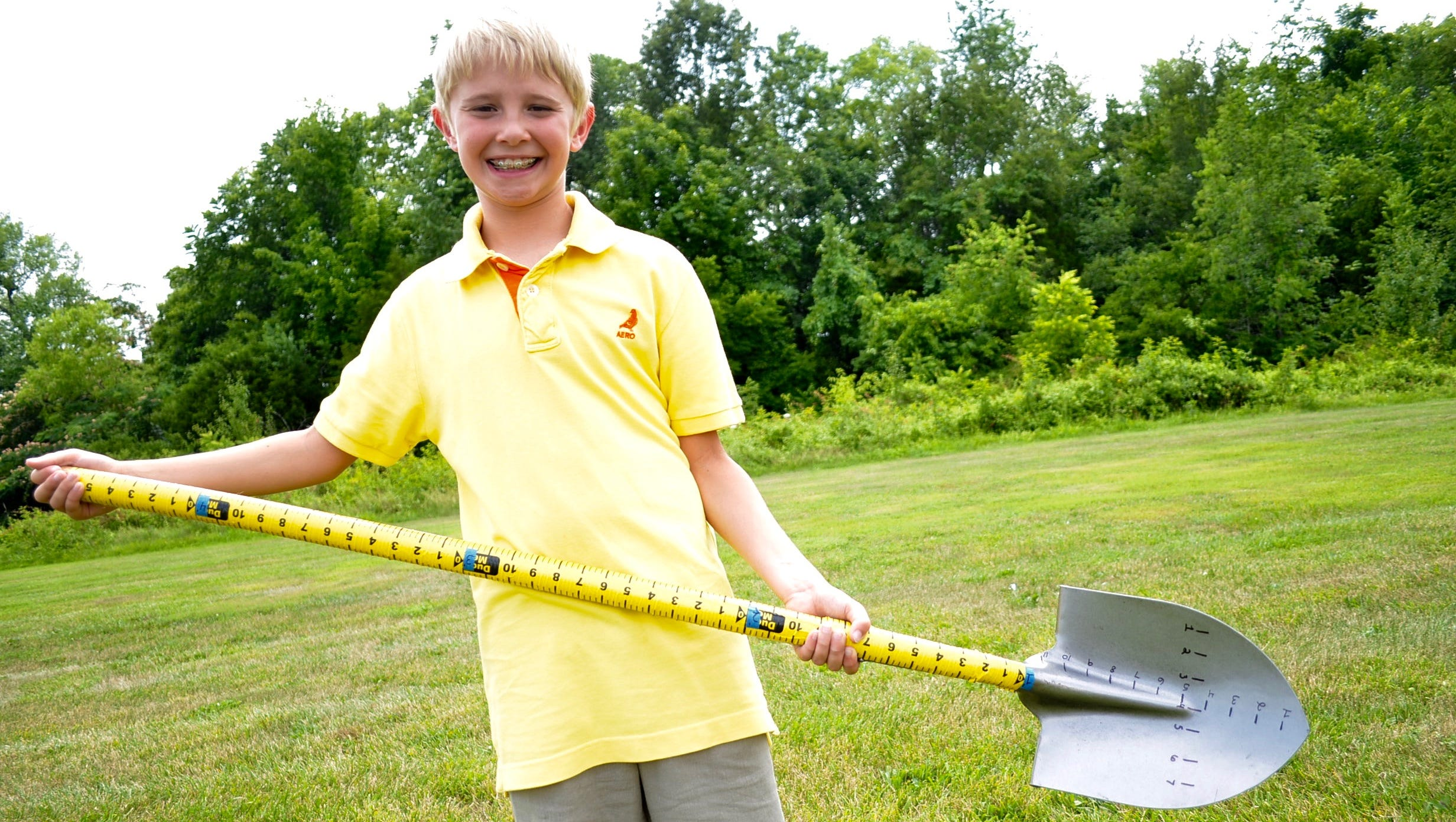 maddox pritchard, inventor of measuring shovel