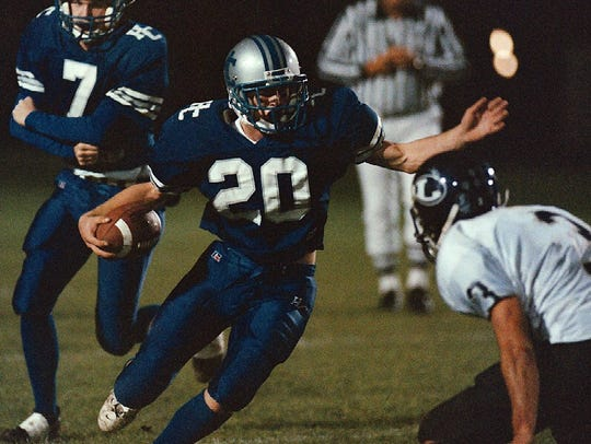 The 1999 Harper Creek team lost to Orchard Lake St.