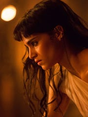 Sofia Boutella, pre-mummification in 'The Mummy.'