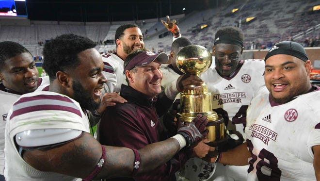 Mississippi State coach Dan Mullen was mentioned as a possible candidate for an NFL coaching opening.