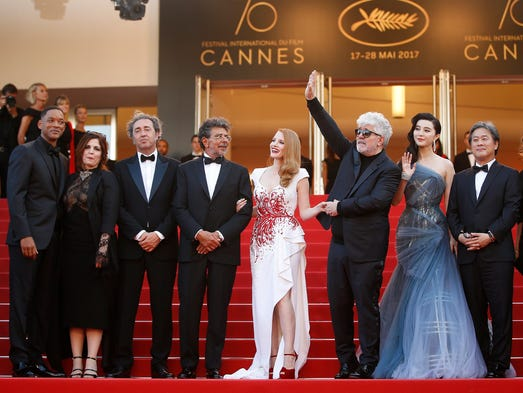 Greetings from Cannes! Stars are in France until May