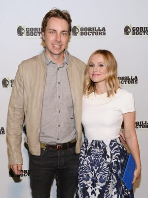 Dax Shepard and Kristen Bell on Nov. 4, 2013 in Beverly Hills.