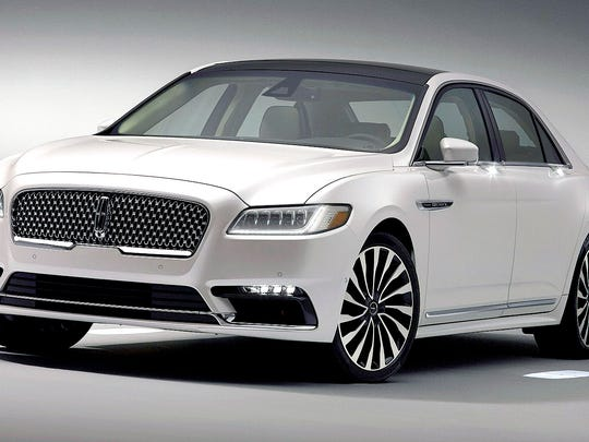 2017 models, such as the 2017 Lincoln Continental,