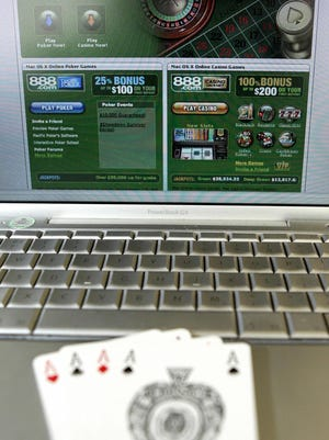 Though brick and mortar casinos are taxed at 19%, the bills would tax online gaming at 8%.