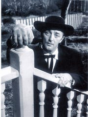 "Robert Mitchum played a character that Paul Gregory said reminded him of his father in Gregory's production of ""The Night of the Hunter."""
