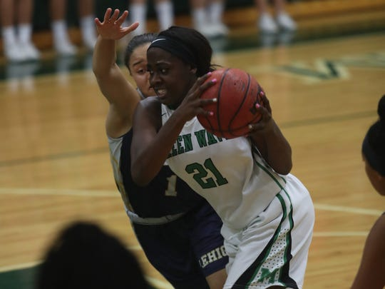 Fort Myers takes on Lehigh in the Class 7A region semifinal girls basketball game on Tuesday, February 14, 2017, at Fort Myers High School.
