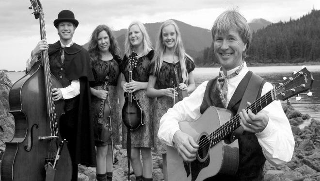 The Zahasky Family, also nown as the Alaska String Band, will perform at 2 p.m. on Saturday at Morgan Hall, 109 E. Pine St.