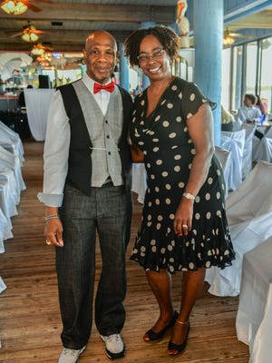 "Hassan and Dorothy Malik attended ""DRIVEN, the Ultimate Fashion & Automobile Extravaganza."""