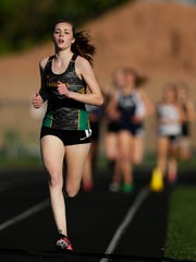 Ashwaubenon's Sage Wagner has the Green Bay area's fastest time in the girls 1,600-meter run (5 minutes, 17.16 seconds) this season.