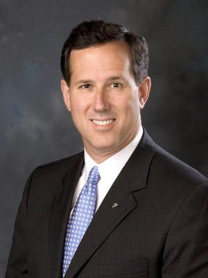 Former Pennsylvania Senator Rick Santorum.