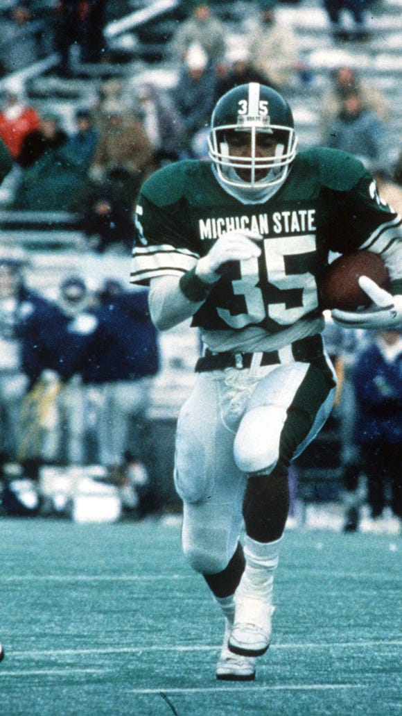 Tico Duckett's 4,212 career rushing yards from 1989-92
