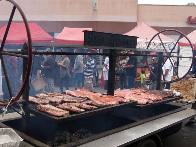 Oldtown Throwdown ribs sale to support Veterans Day