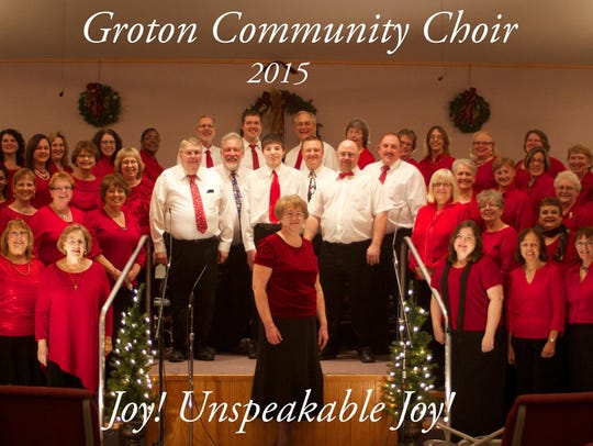 The Groton Community Choir in 2015.