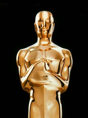The Oscar statuette, awarded to Academy Award winners for excellence in cinema.