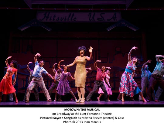 """""""Motown: The Musical"""" is coming Dec. 2-7 to the Des Moines Civic Center's stage. It includes songs from the famed Detroit record label's performers like Diana Ross, Michael Jackson, Stevie Wonder, Smokey Robinson and Marvin Gaye, and a book by Motown founder Berry Gordy."""