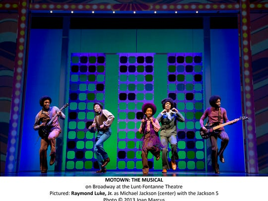 """The Jackson 5 get some stage time in """"Motown: The Musical,"""" which opens Tuesday at the Des Moines Civic Center."""