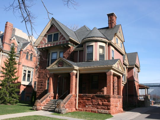 Designed by John Scott and Company for John Scott. The home is in the East Ferry Avenue Historic District Detroit on East Ferry Avenue. It was built 1886-1887.
