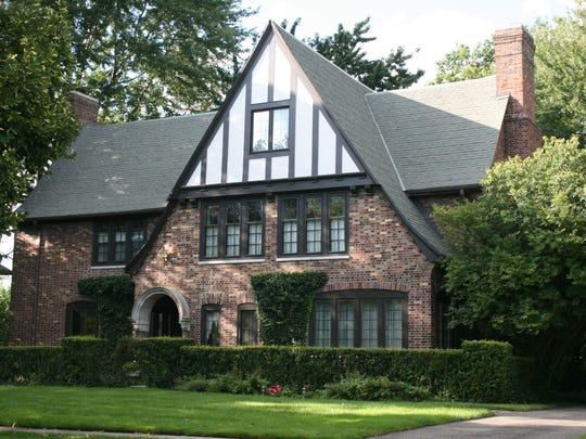Designed by Burrowes and Eurich for the Albee Realty Company. The Grosse Pointe Woods home is on Sunningdale and it was built in 1925.
