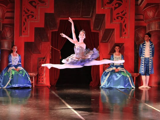 The Atlantic City Ballet is shown here performing 'Sleeping Beauty.' The company will stage 'Dracula' later this month.