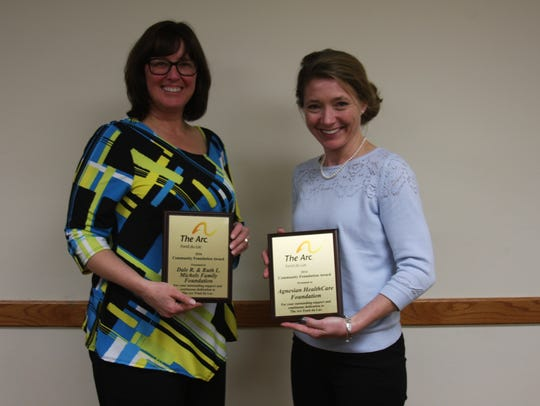 Pictured are the winners of the Community Foundation