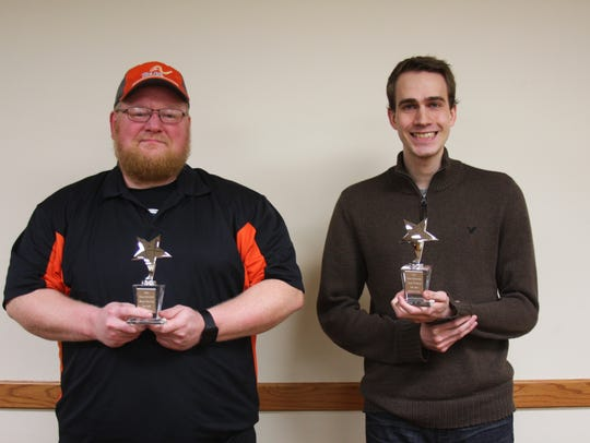 Pictured are winners of Star Employee of the Year,