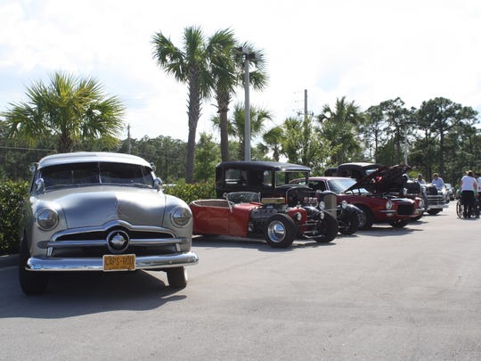 Local vintage car owners from across Martin County participated in the event