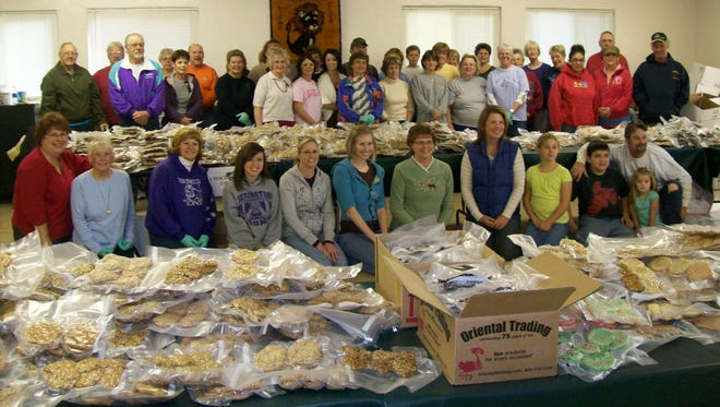 Operation Local Support held a cookie drive in 2009.