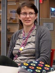 A vegetarian since 2009, Tanya Dhein, library circulation