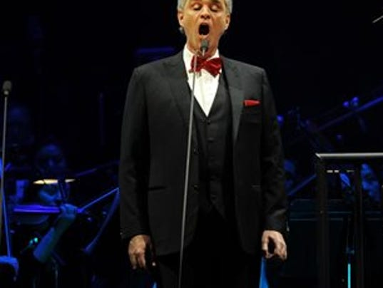 Andrea Bocelli To Kick Off Us Tour In Las Vegas