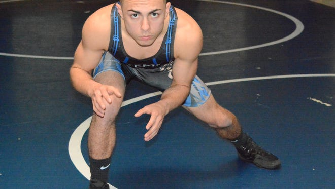 Carlsbad's Shawn Martin overcame a difficult past and is now in the hunt for a state championship in the 106-pound division.