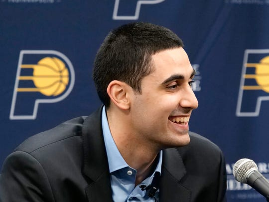 Goga Bitadze was drafted 18th overall by the Indiana Pacers in 2019.