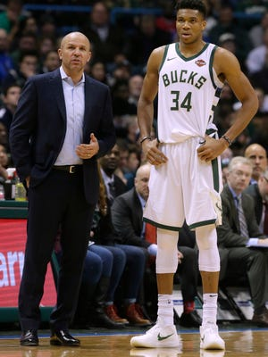Jason Kidd had a star in forward Giannis Antetokounmpo, who worked as hard as anyone, but even Antetokounmpo was prone to going one-on-three occasionally.