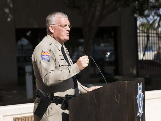 DPS press conference